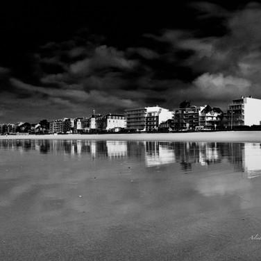 Photo Noir & Blanc Plage de Pornichet La Baule