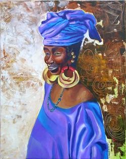 Femme Peule du Mali