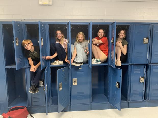 Lockers!!