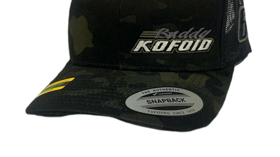 2021 Buddy Kofoid Camo Trucker Snapback Hat