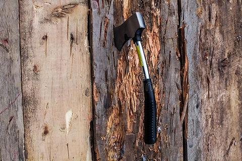 small-axe-stuck-wood-board-as-part-axe-t