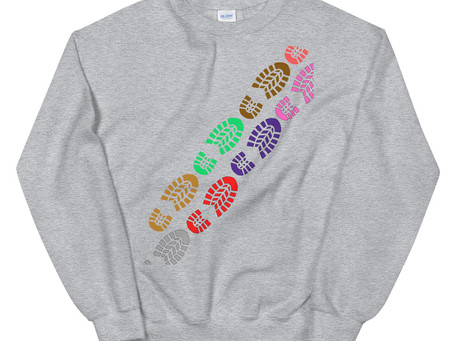 The Art Of Walking (Boot Print) Sweatshirt