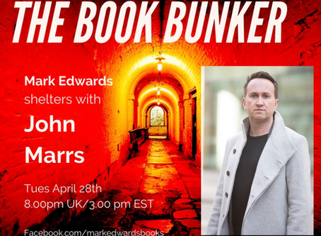 The Book Bunker with Mark Edwards
