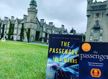 The Passengers is shortlisted in Dead Good Reader Awards