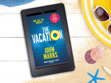 Cover Reveal of The Vacation