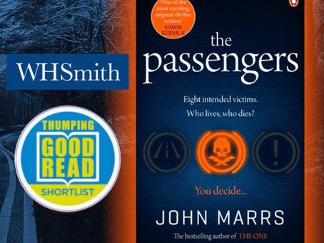 The Passengers arrives in paperback and is shortlisted...