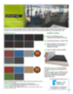 Sportec Impact protection Slabs, Team Cup X Impact and Sound Acoustic Underlayment