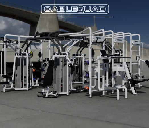 CableQuad | Cable Motion Platform