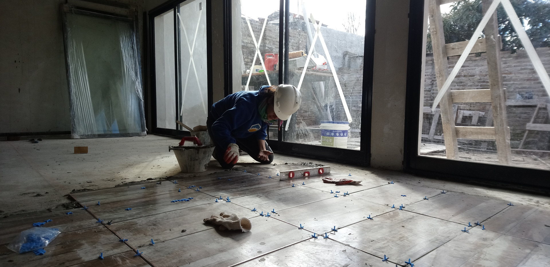 Laying of Tiles