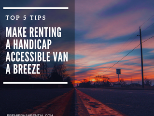 Top 5 Tips for Making Handicap Van Rental A Breeze