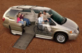 Wheelchair Accessible Van Rental - Family