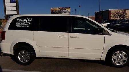 2012 Dodge Grand Caravan Rear Entry Wheelchair Accessible Van