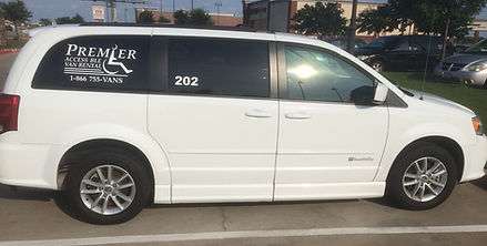 2014 Dodge Grand Caravan Sid Entry Wheelchair Accessile Van