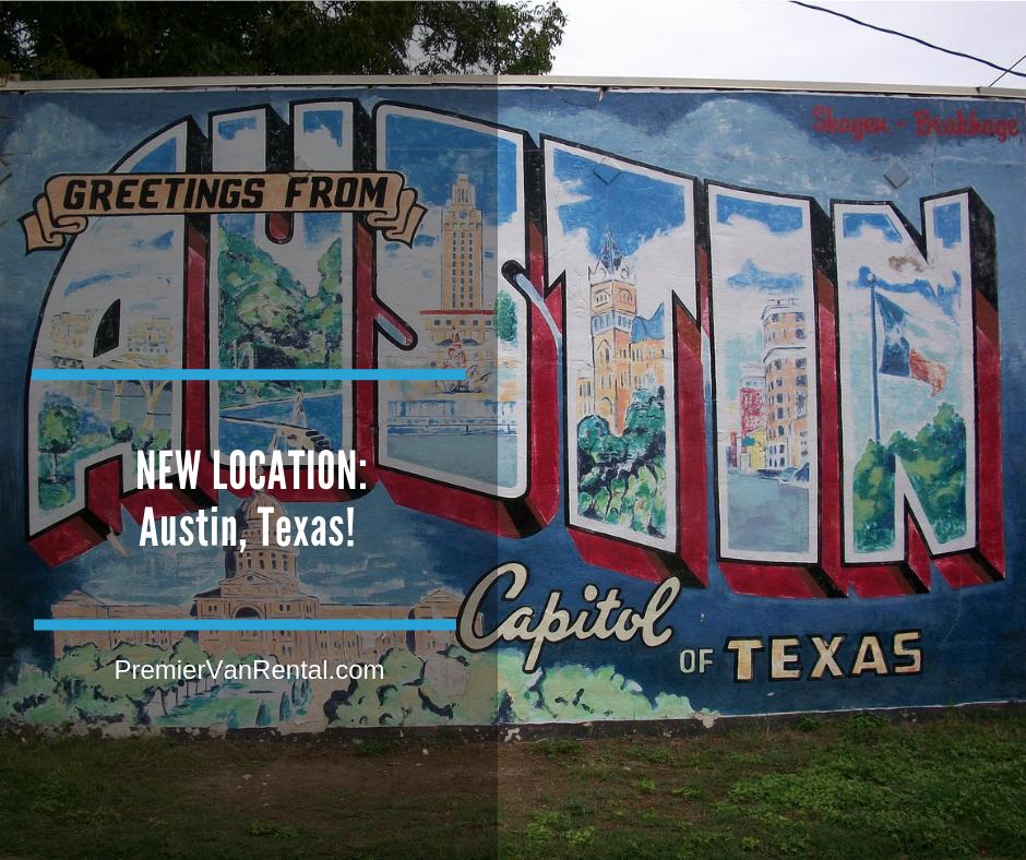 New accessible van rental Austin Texas