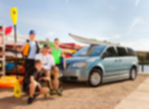 Rent a wheelchair accessible van so you can go on vacation with your family