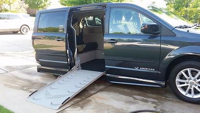 2014 Dodge Grand Caravan Side Entry Wheelchair Accessible Van