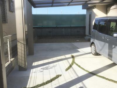 駐車場増設完了