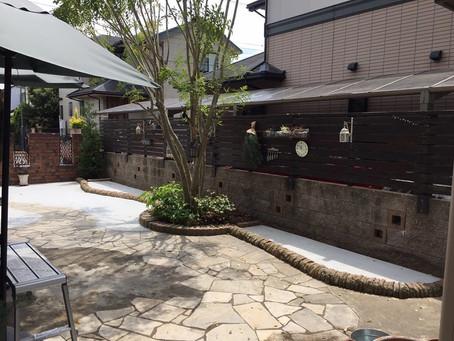犬と過ごせる庭づくりの事例【奈良県香芝市 N様邸】
