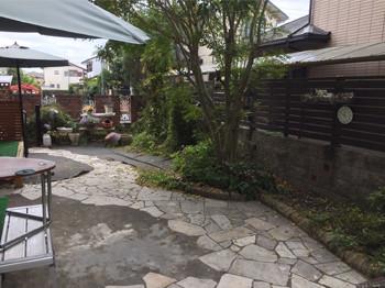 庭リフォームビフォー1