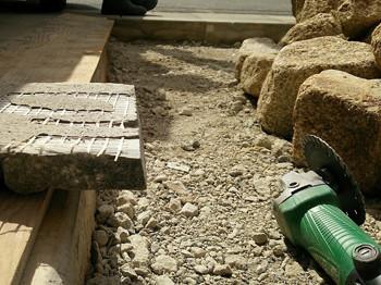 天然石の加工