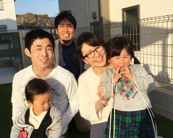 S様ご家族写真