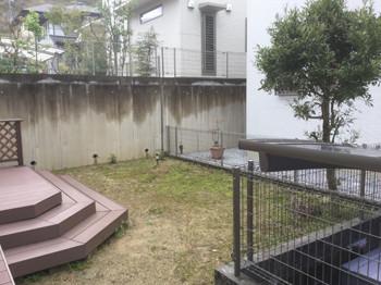 庭リフォームビフォー