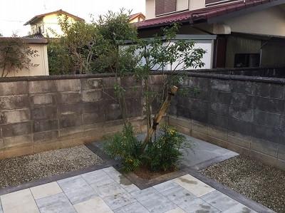 植木植栽完了