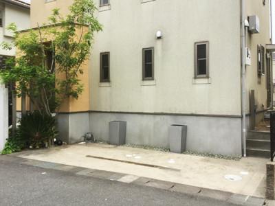 外壁塗装をする前の家