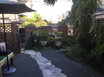 庭リフォームビフォー2
