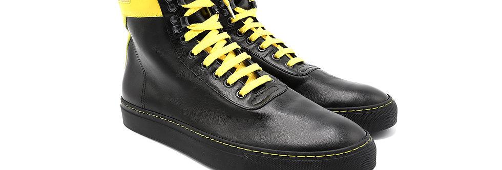 Black & Yellow high top