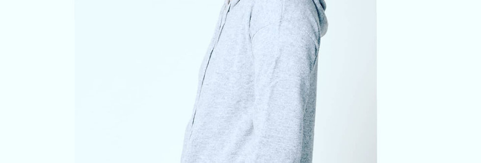 Hooded cashmere sweatsuit