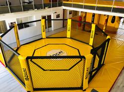 Vue hauteur de l'octogone pour MMA