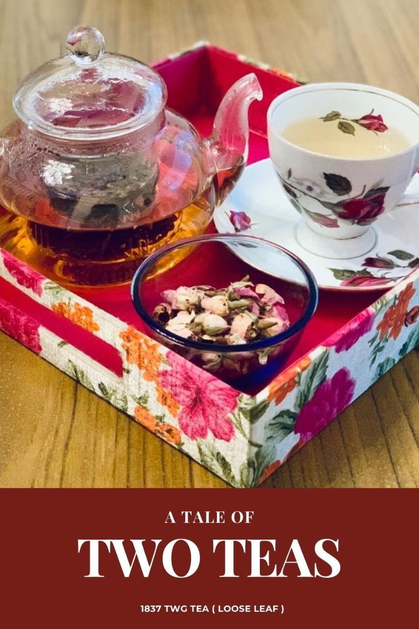 A tale of two teas - loose leaf - TWG