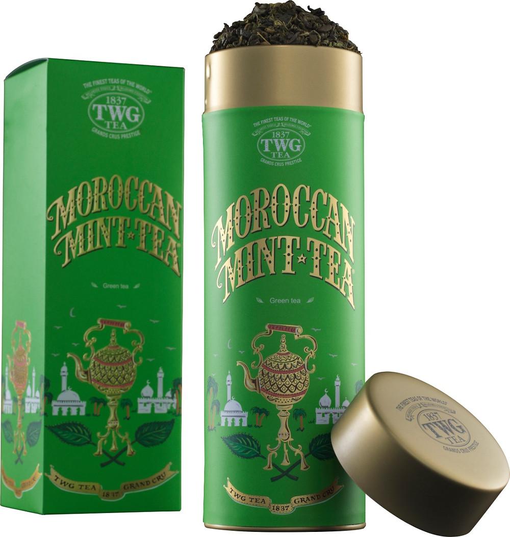 Morrocan mint tea - TWG - green tea