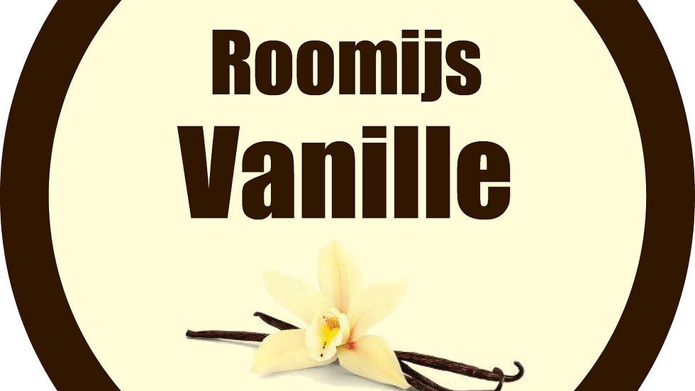 Roomijs vanille (in klassieke doos van 2,5L)