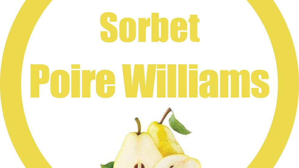 Sorbet poire Williams (900ml)