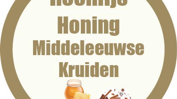 Van Eyck-ijs: roomijs honing, middeleeuwse kruiden (900ml)