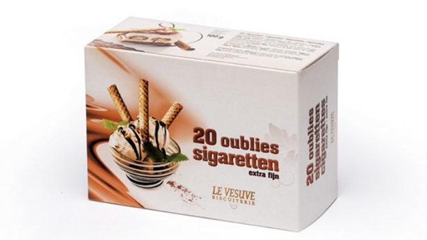 Extra fijne sigarettenkoekjes (20 stuks)