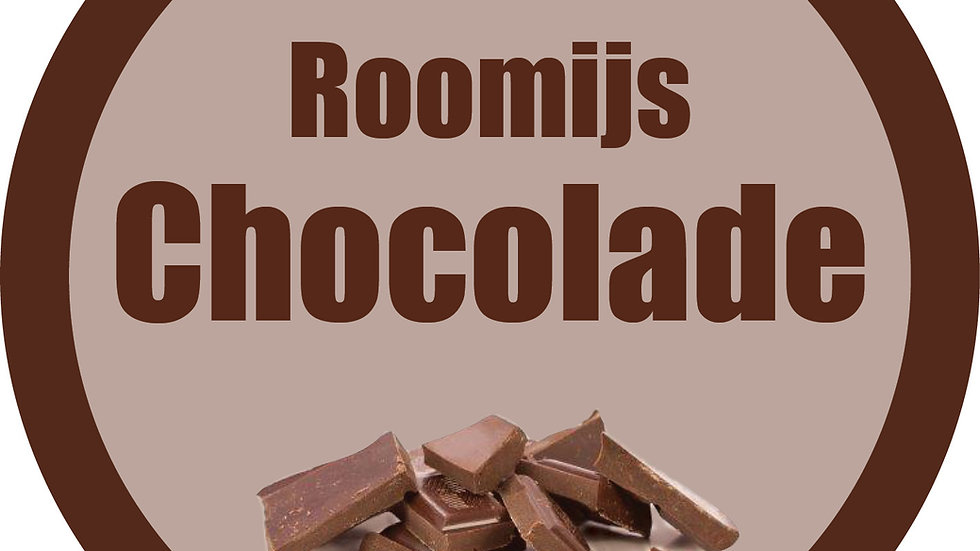Roomijs chocolade (900ml)