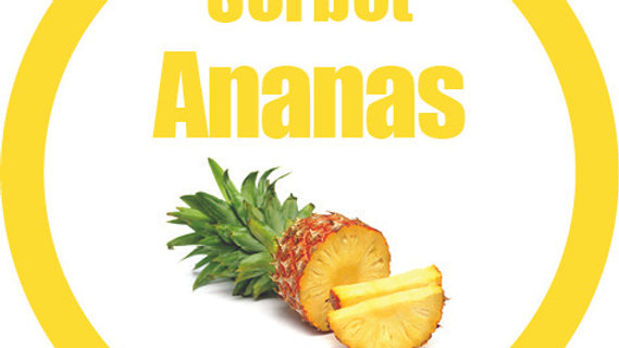 Sorbet ananas (900ml)