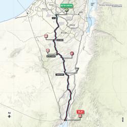 מפת המירוץ הגי'רו