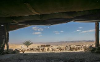 נוף מהאוהל