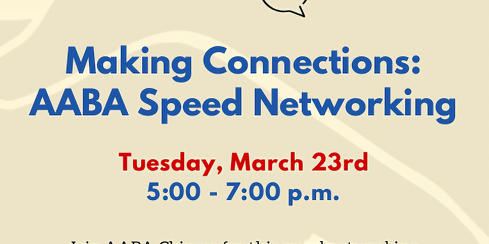 AABA Speed Networking [March 23, 2021]