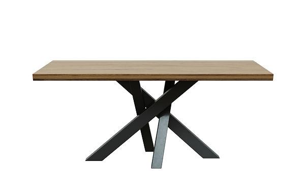 Tavolo da pranzo Brook 90x180 cm h: 76 cm - Rovere naturale