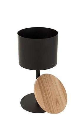 2 Tavolini Leonie Metal Black Small (3510)
