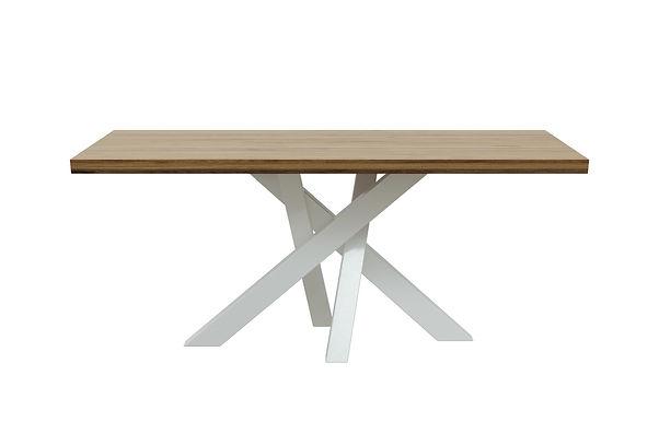 Tavolo da pranzo Brook 90x180 cm h: 76 cm - Rovere castagno