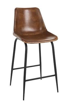 2 sedie metallo cognac (80072)