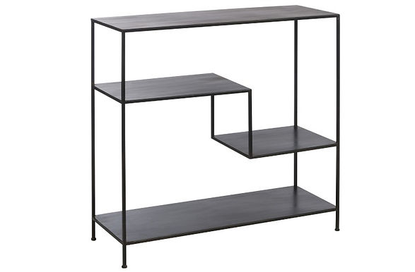 Consolle 3 Levels Metal Black (78463)
