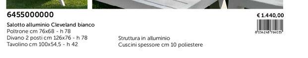 Catalogo Arredo Giardino Vacchetti 2020_