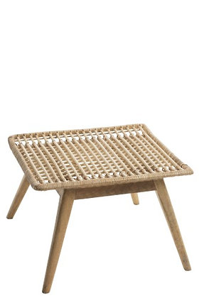 Tavolo Nany Rattan / Mango Wood Natural